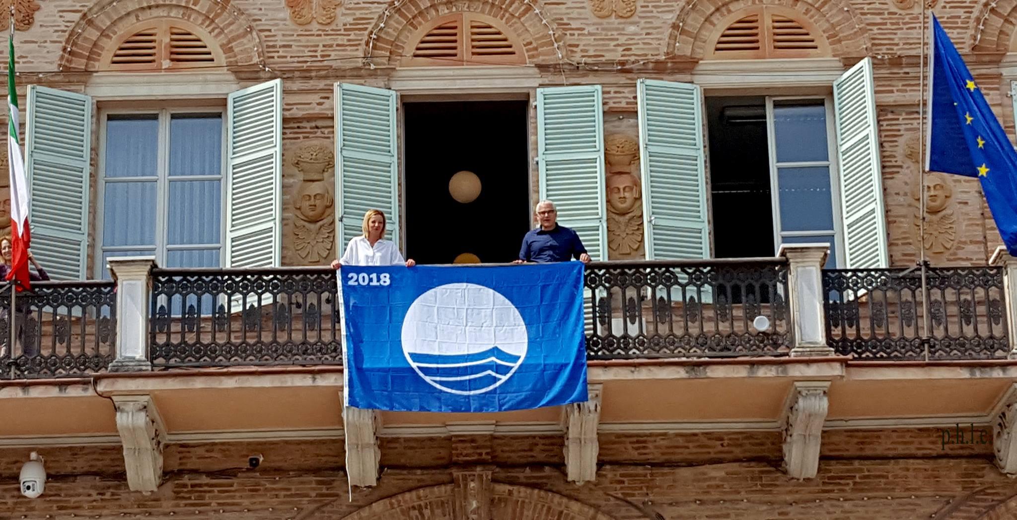 Civitanova Marche, festeggiamenti per la Bandiera Blu