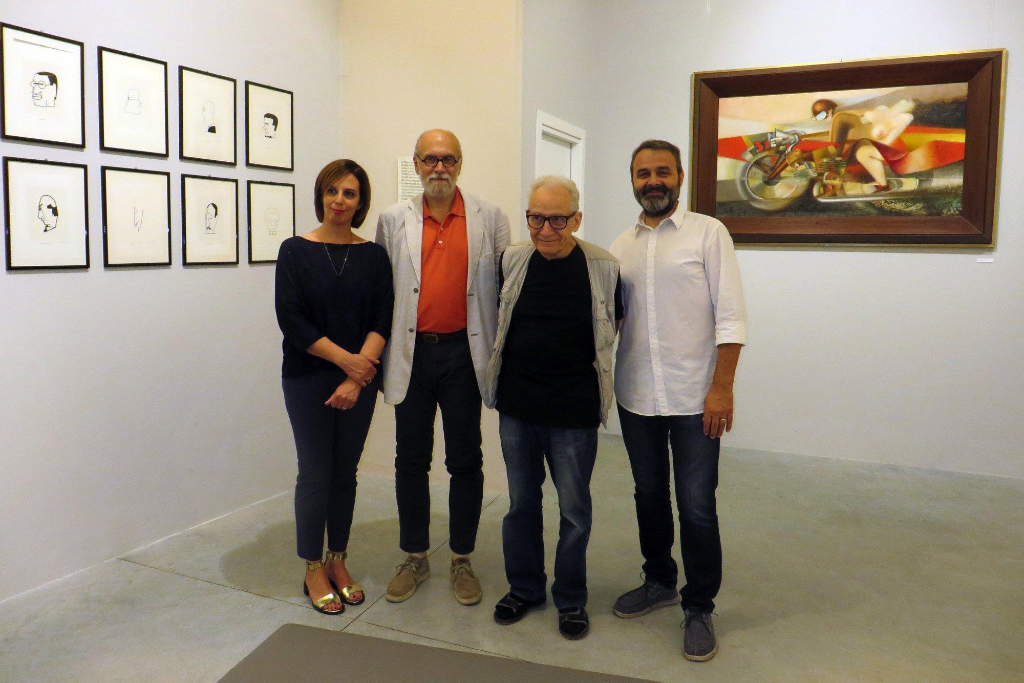 Ripe San Ginesio, in mostra caricature e ritratti di Ivo Pannaggi