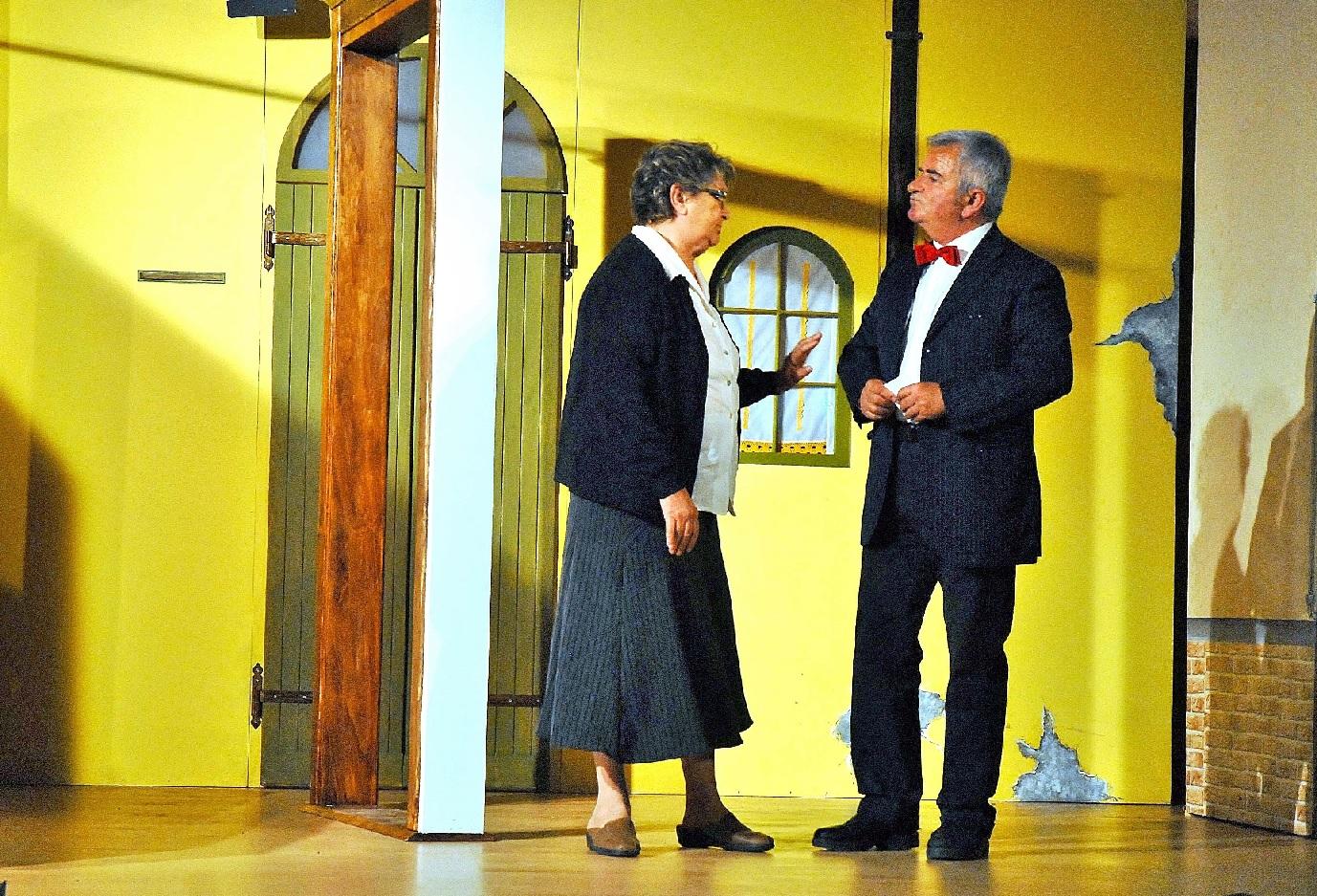Civitanova Marche, teatro dialettale  al quartiere Risorgimento