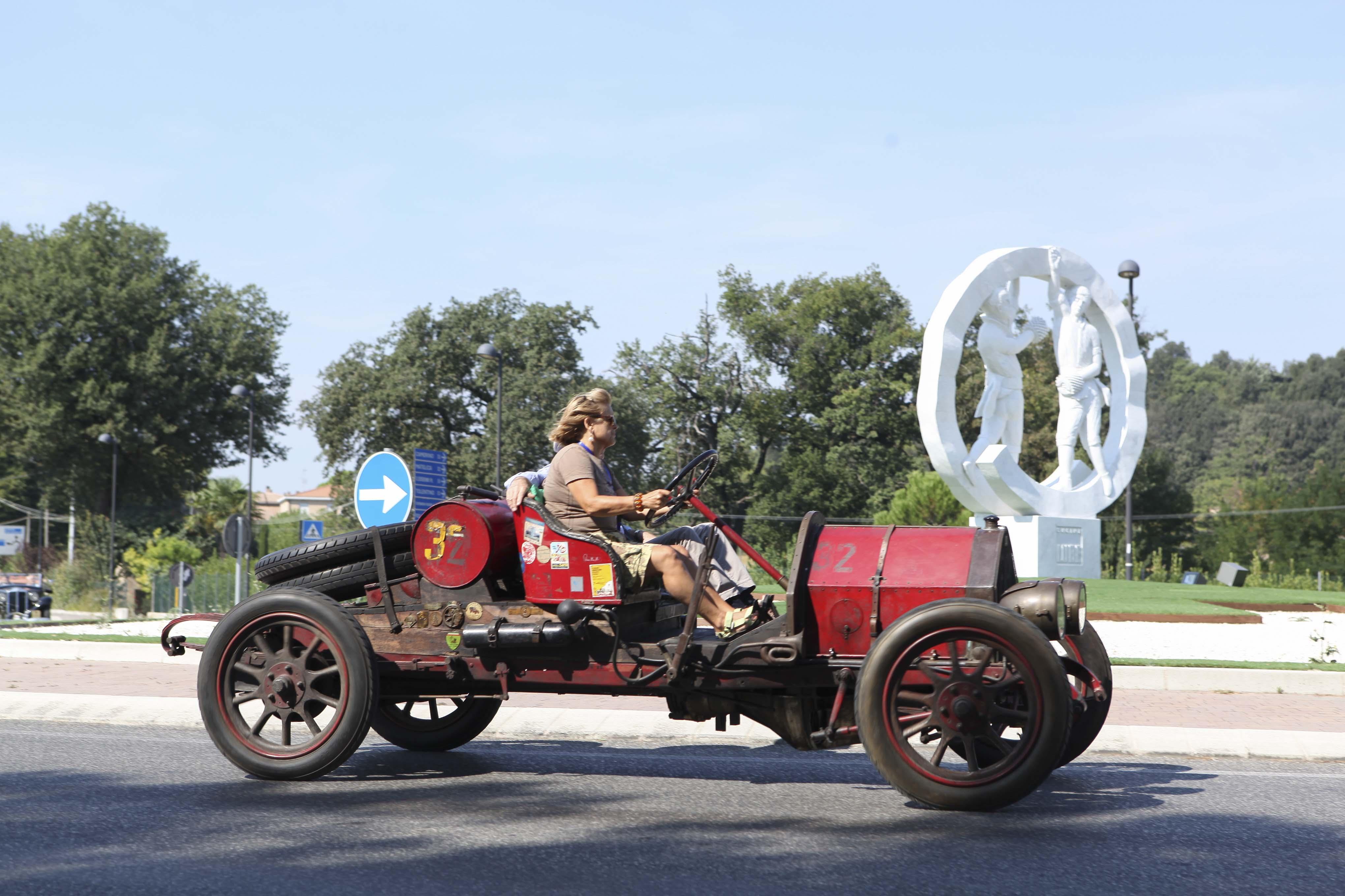 Macerata, rievocazione con auto storiche del Circuito della Vittoria