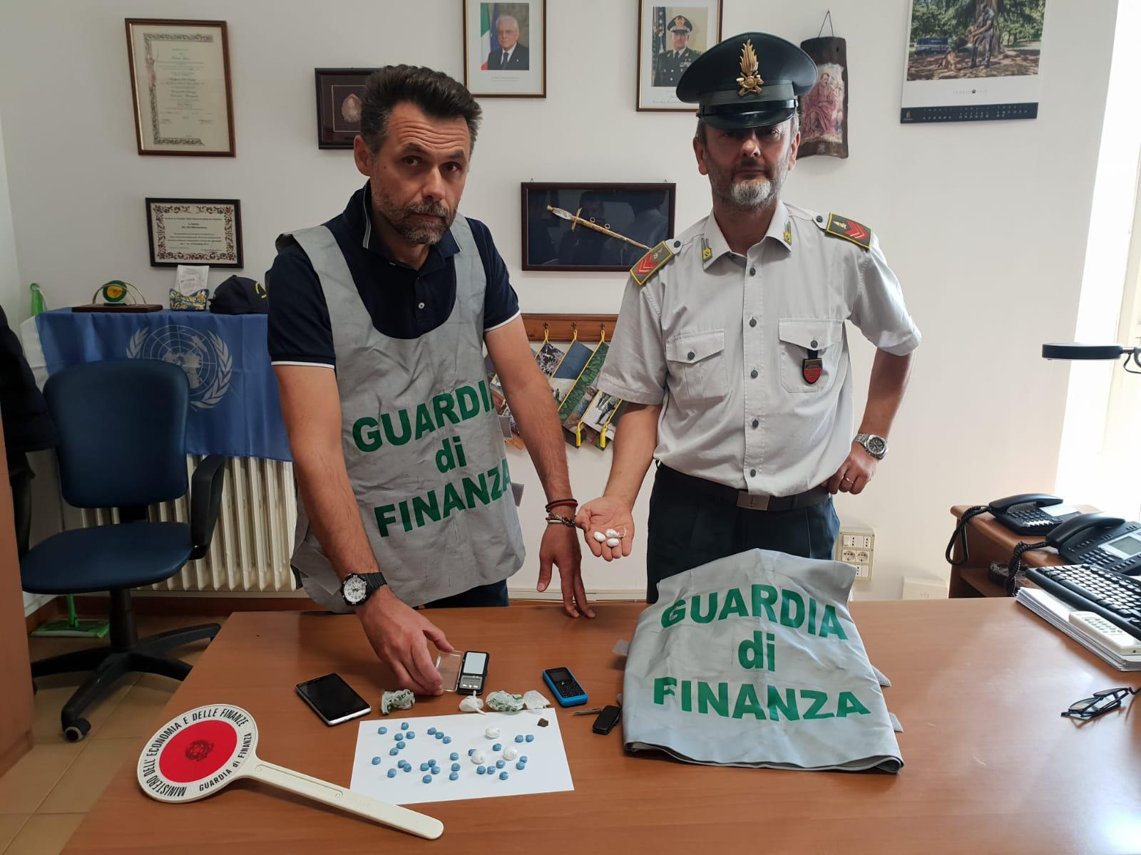 Civitanova Marche, dosi di cocaina sequestrate dalla Finanza