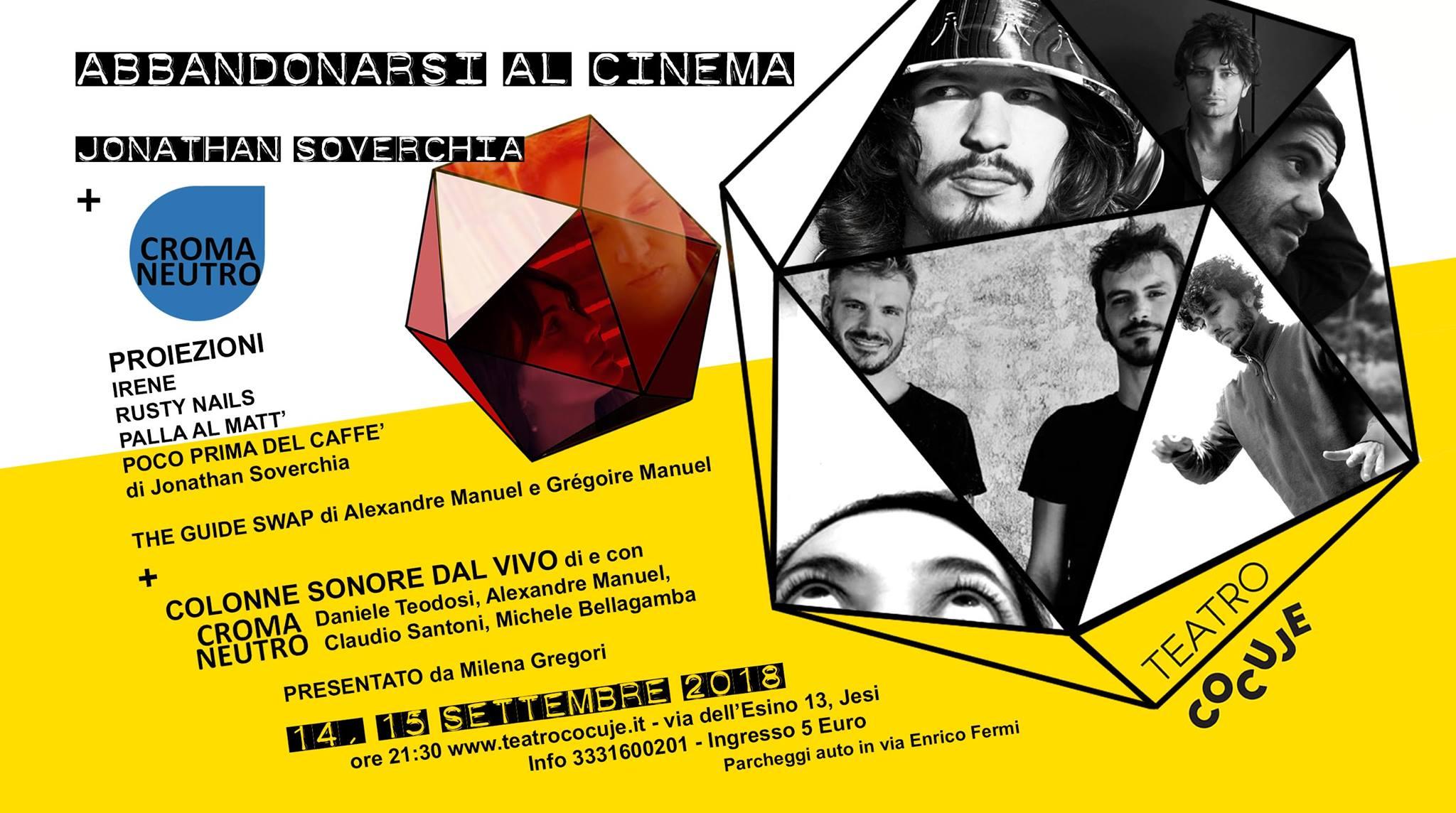 Jesi, cinema e colonne sonore dal vivo al Teatro Cocuje