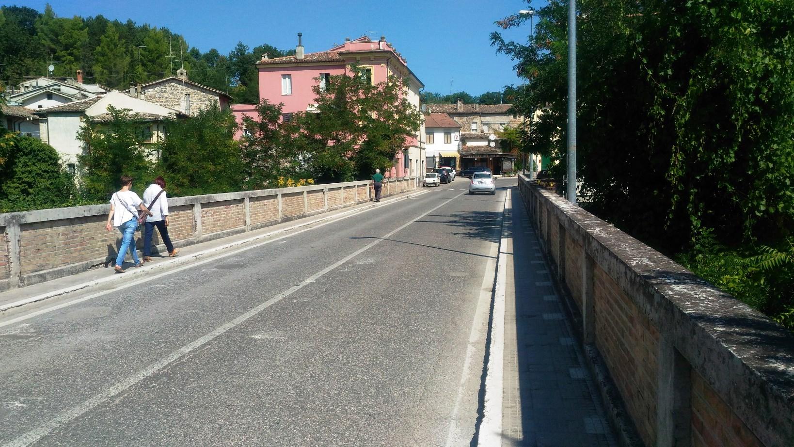 San Severino Marche, controllati i ponti nel territorio comunale