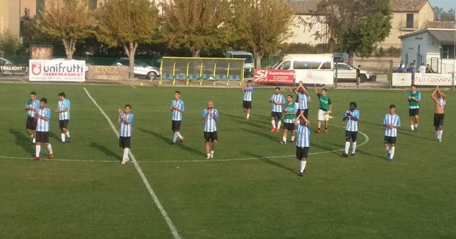 Trodica-Mancini Ruggero Pioraco 4-0, tripletta di Ulissi