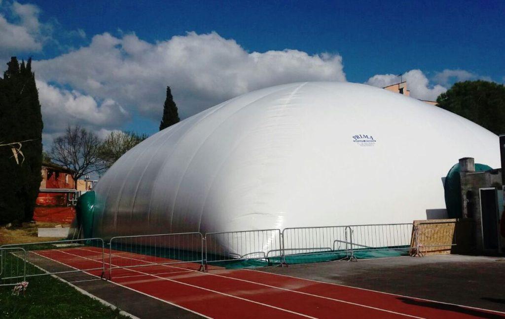San Severino Marche, ignoti tagliano pallone pressostatico