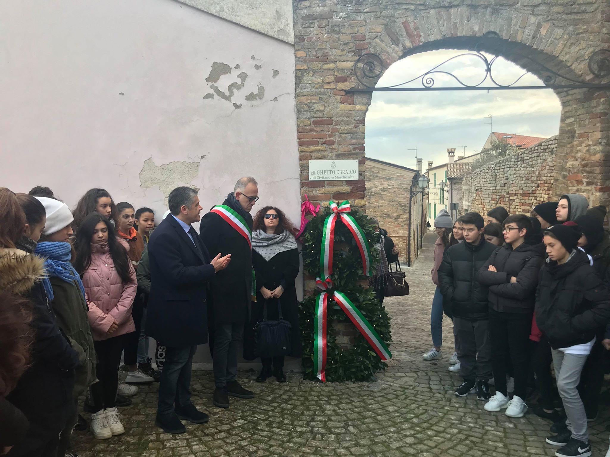 Civitanova Marche, il Giorno della Memoria nell'ex ghetto ebraico
