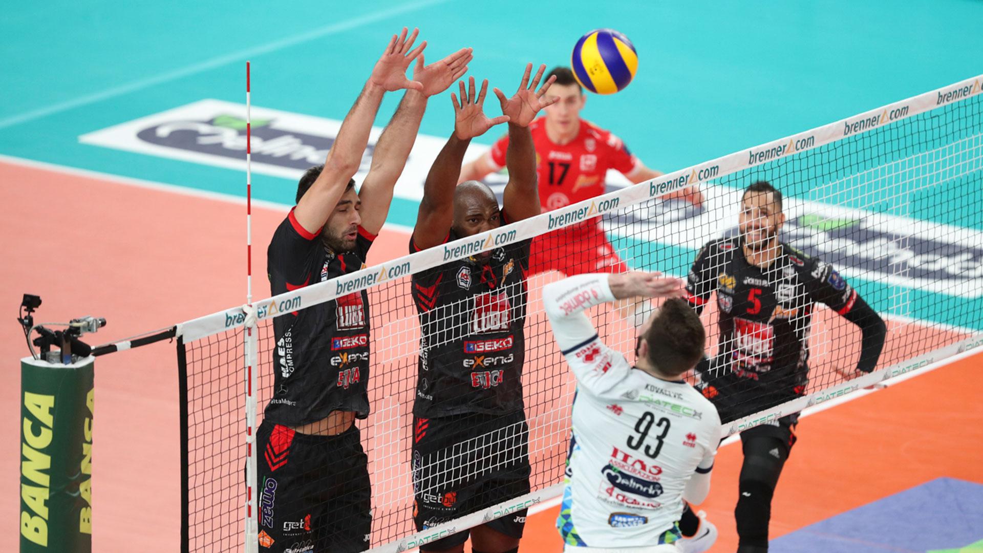 La Lube espugna Trento (3-1), monumentale Sokolov MVP