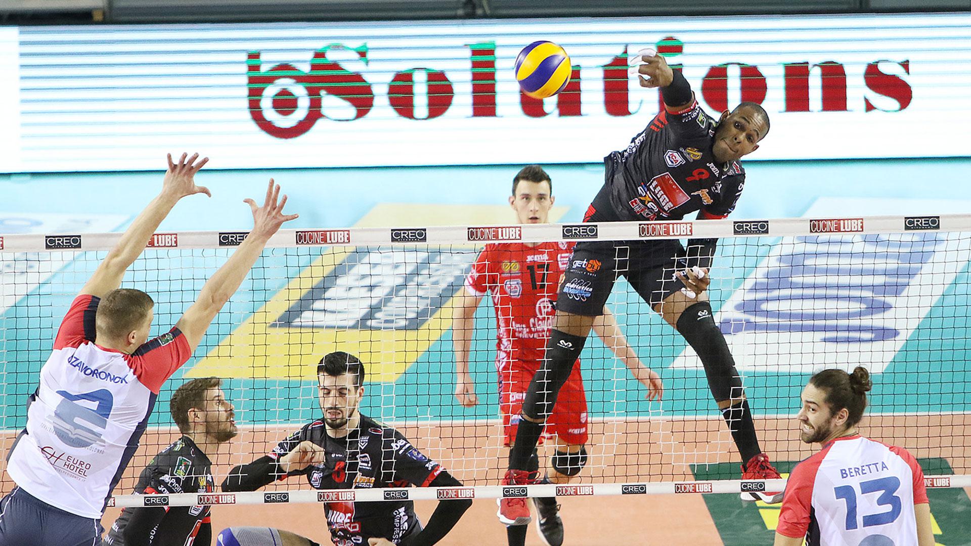 La Lube funziona bene, netto 3-0 al Vero Volley Monza