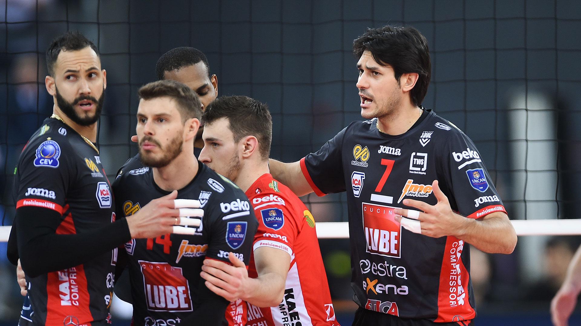 Lube, grande vittoria in Polonia e vetta del girone Champions