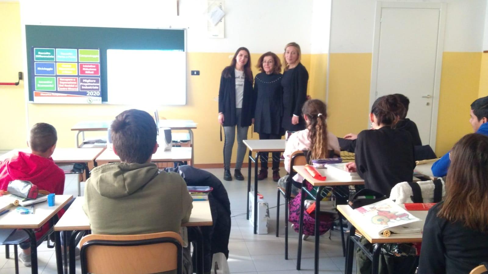 """Cupra Marittima, a lezione per """"La mia scuola a Rifiuti Zero"""""""