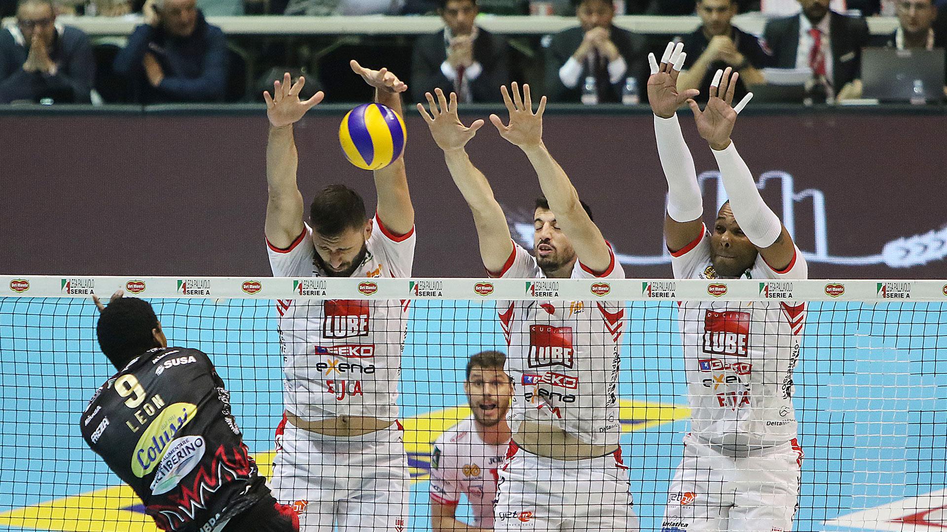 Lube battuta da Perugia in Coppa Italia, ancora una finale persa