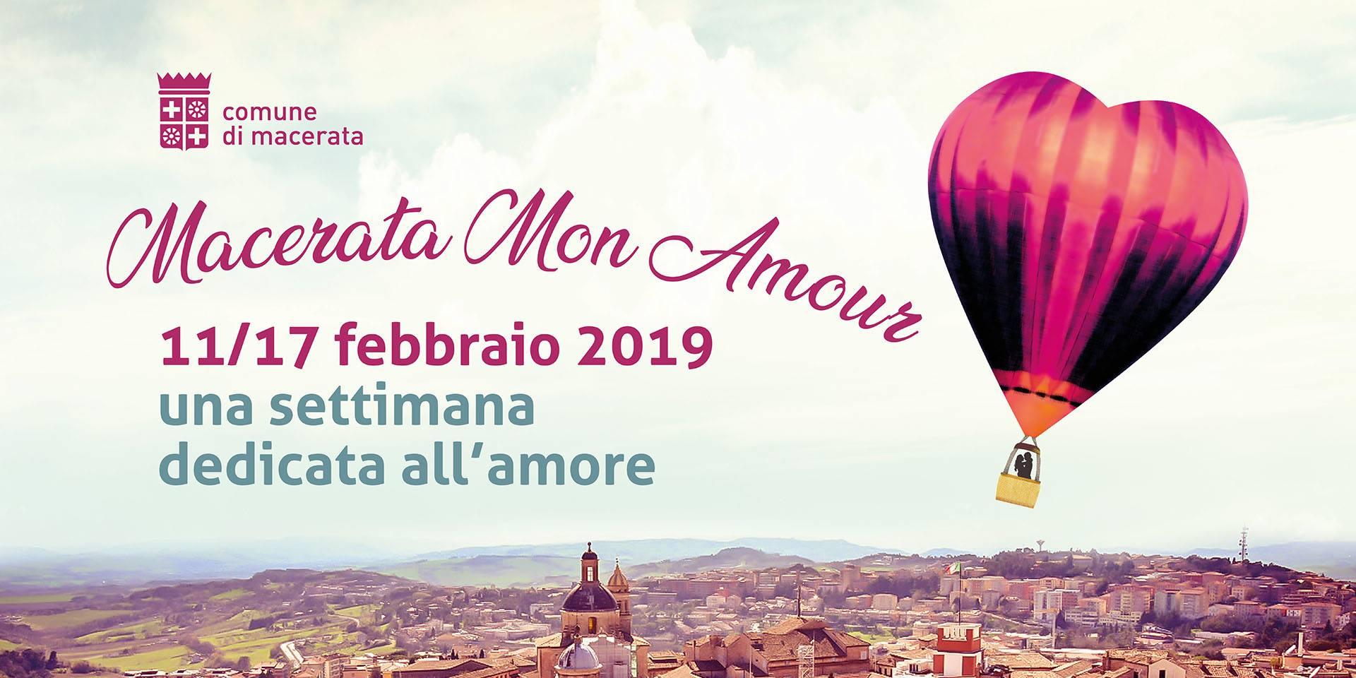 Macerata Mon Amour, il centro storico pieno d'amore