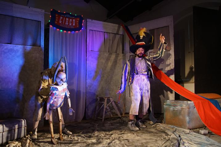 Teatro Comunale di Treia, Pinocchio e il riscatto di Mangiafuoco
