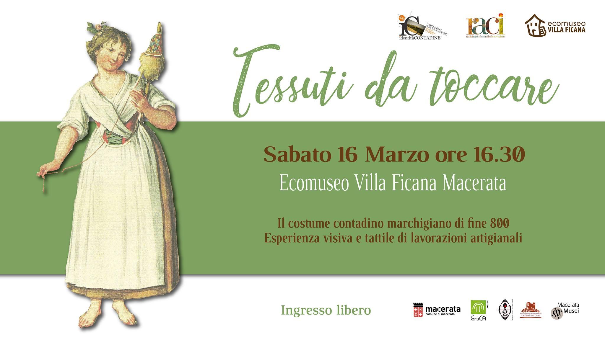 Macerata, storie della tessitura all'Ecomuseo di Villa Ficana