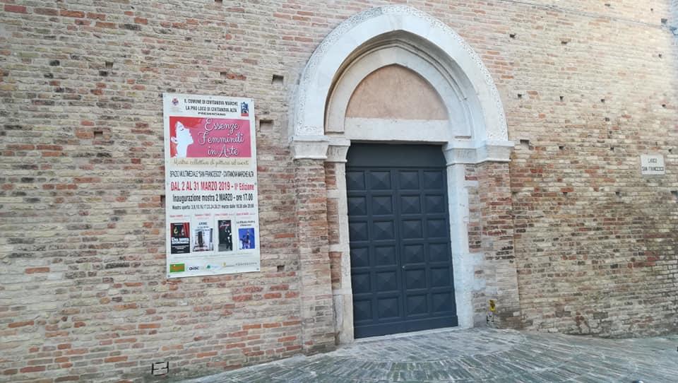 "Civitanova Alta, al San Francesco ""Essenze femminili in arte"""