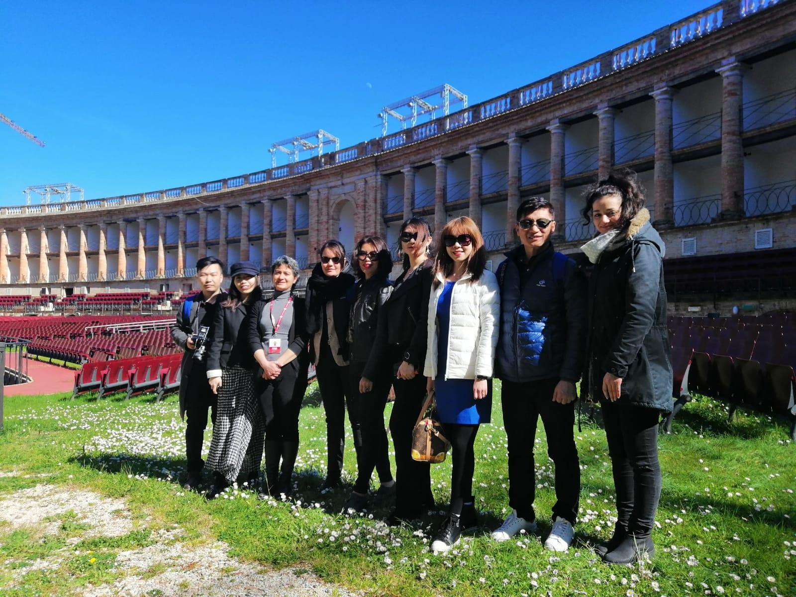 A Macerata giornalisti cinesi in tour nelle regioni del Centro Italia
