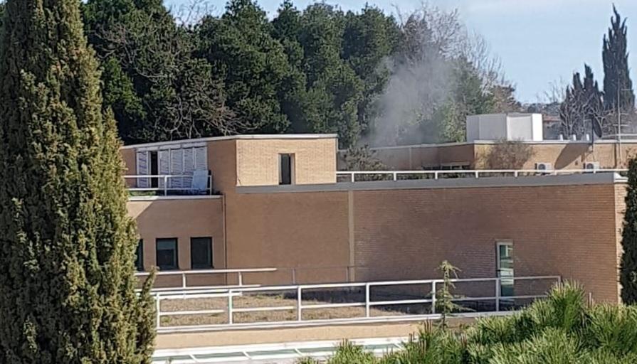 Regione, evacuato Palazzo Leopardi per un principio di incendio