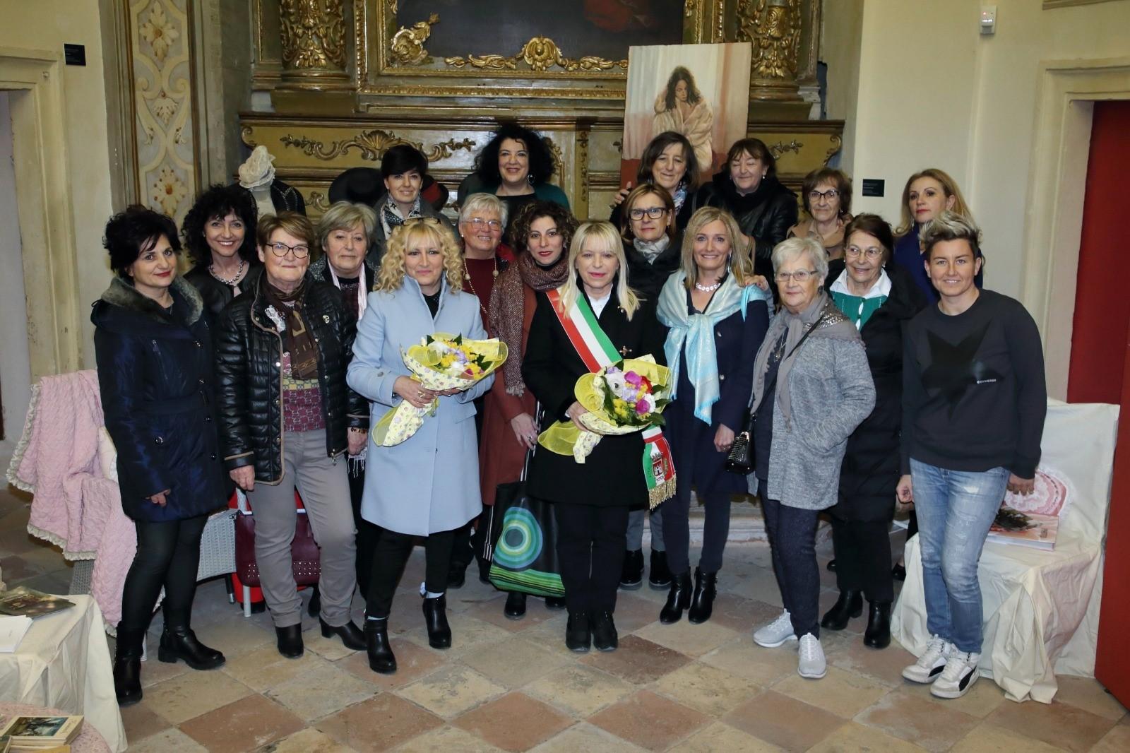 San Severino Marche, inaugurata mostra collettiva di pittrici