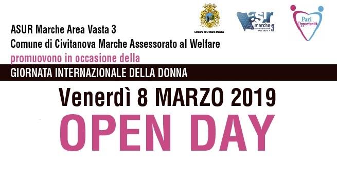 Festa della Donna Civitanova Marche, Open Day e visite gratuite