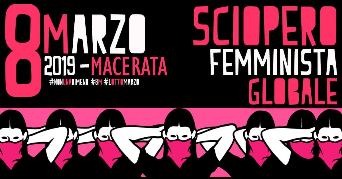 """Macerata, 8 marzo con corteo delle donne di """"Non una di meno"""""""
