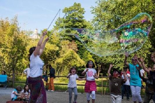 Macerata, festa di Primavera al parco di Fontescodella