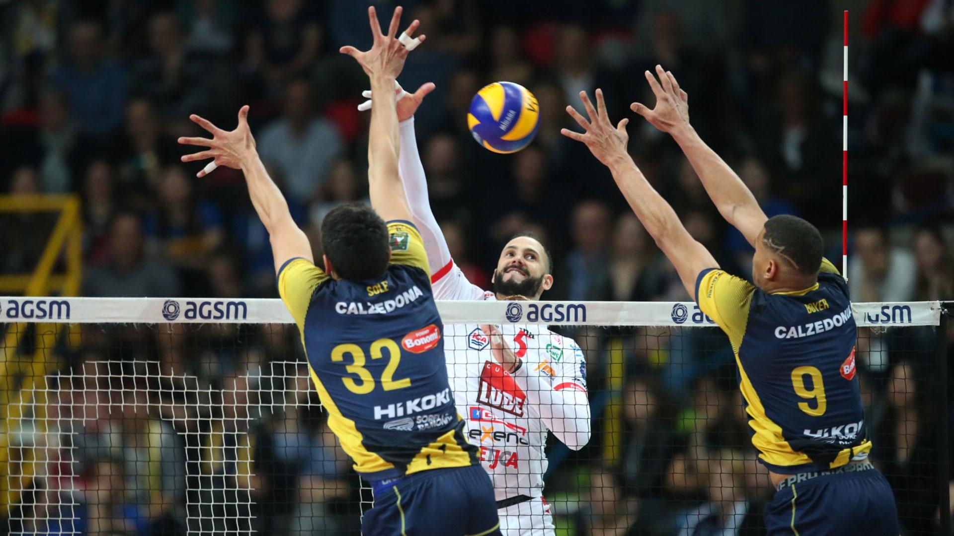 La Lube vince gara 2 a Verona (3-1) e vola in semifinale