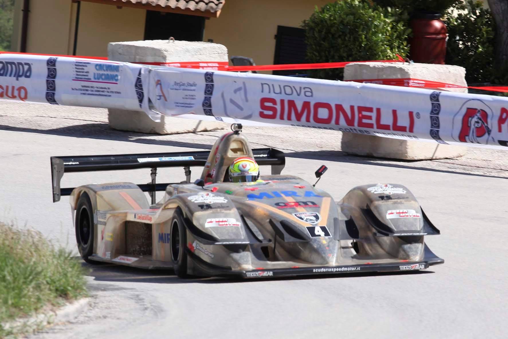 Sarnano-Sassotetto, Trofeo Scarfiotti a Michele Fattorini