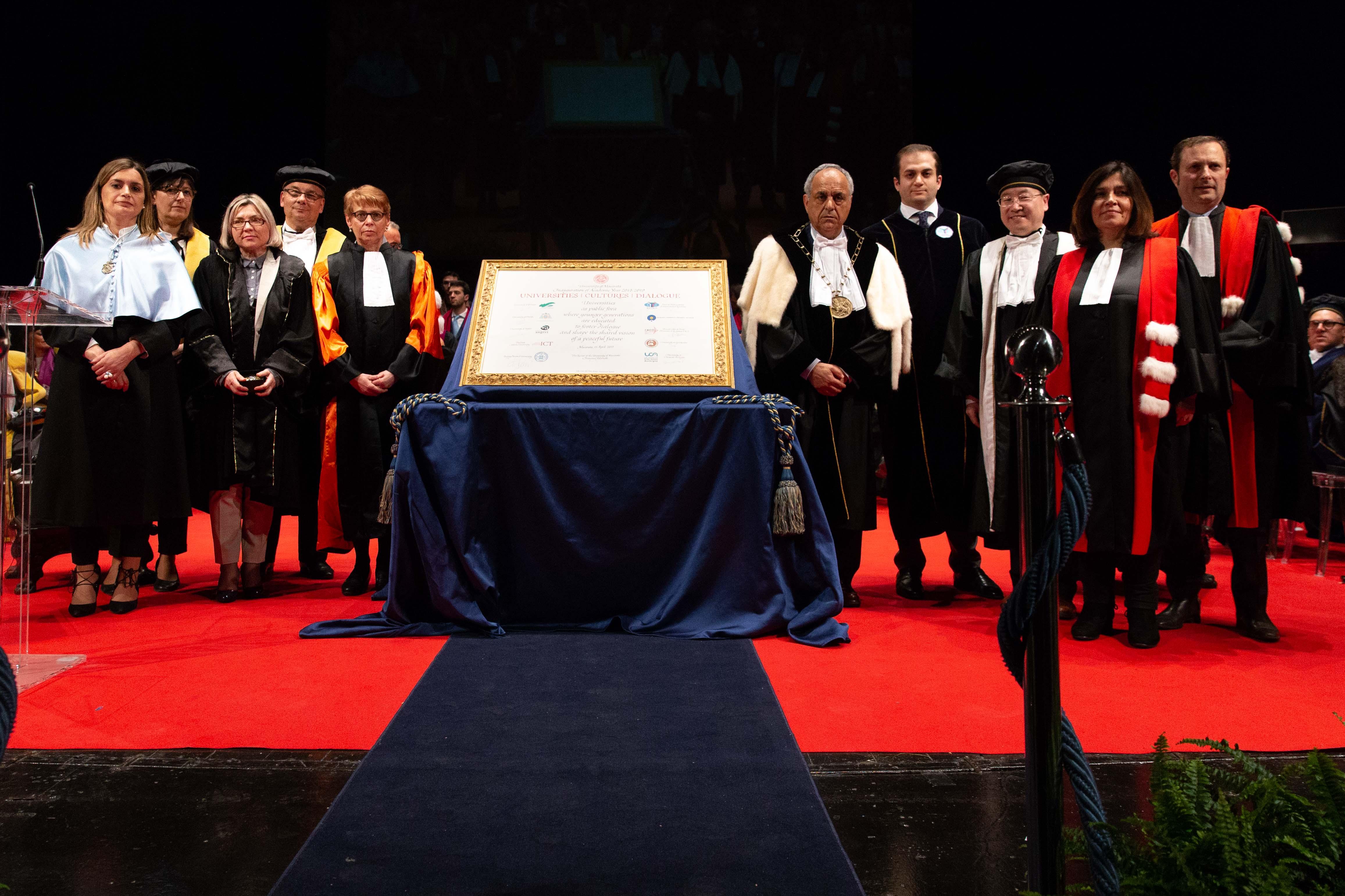 UniMC ha inaugurato l'Anno Accademico, impegno per il futuro