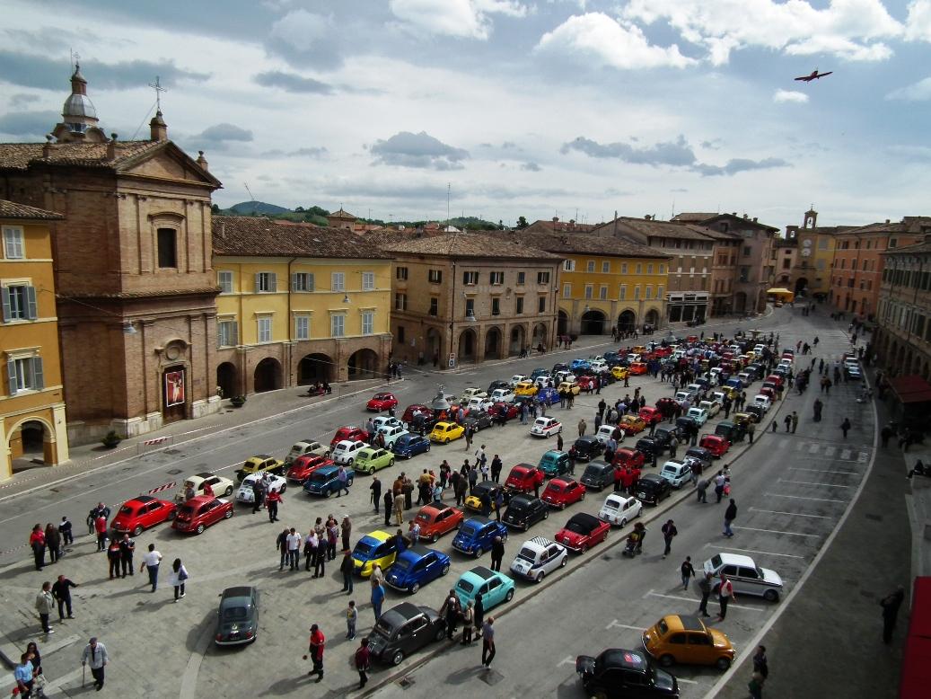San Severino Marche, raduno delle leggendarie 500