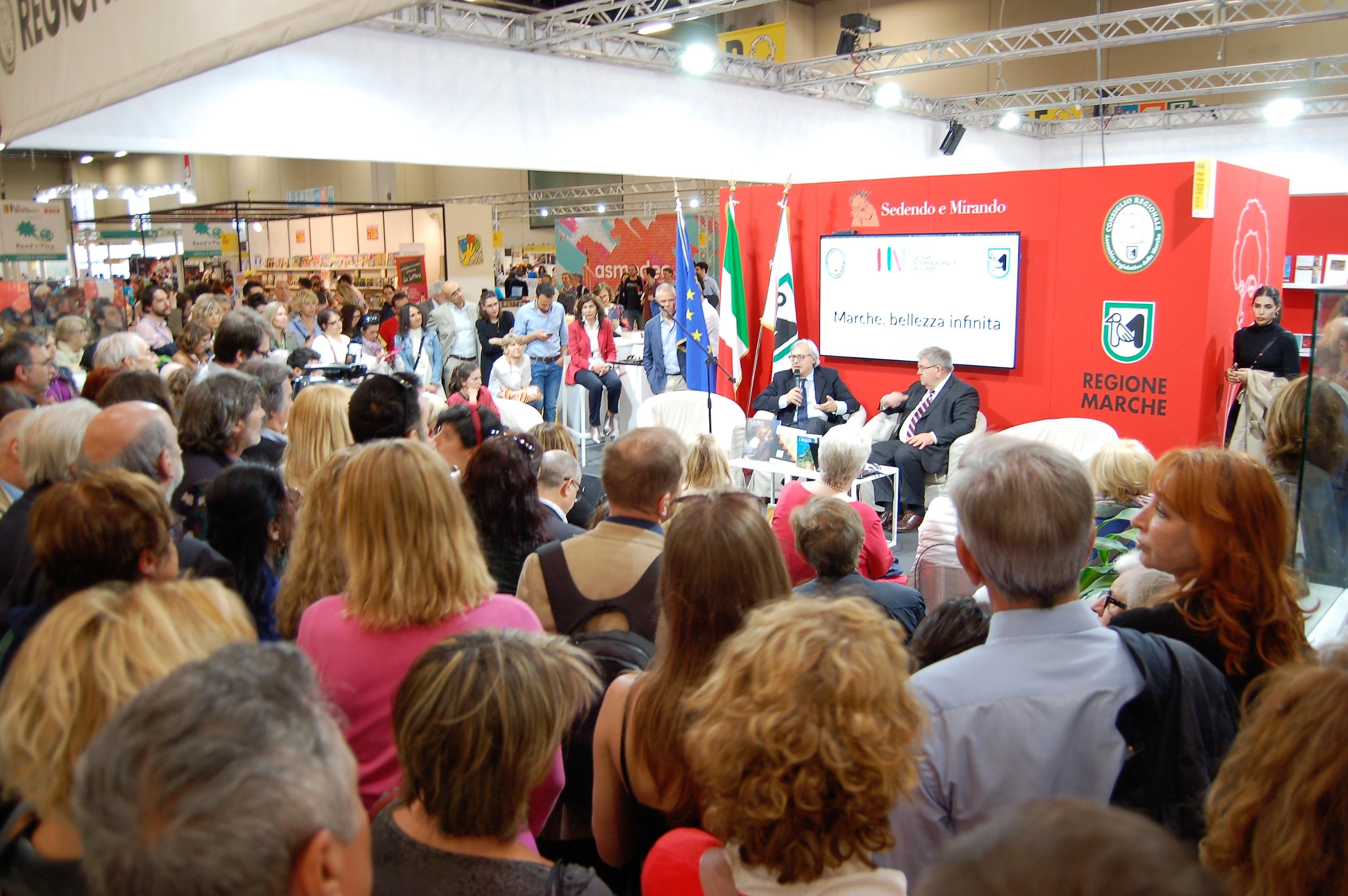 Il Salone del Libro di Torino vetrina per il turismo nelle Marche