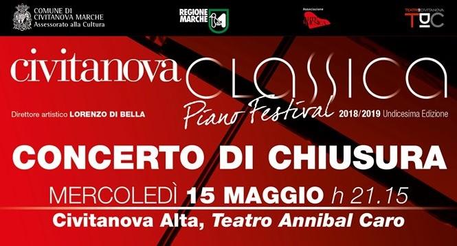 Civitanova Classica, l'Orchestra Filarmonica chiude il festival