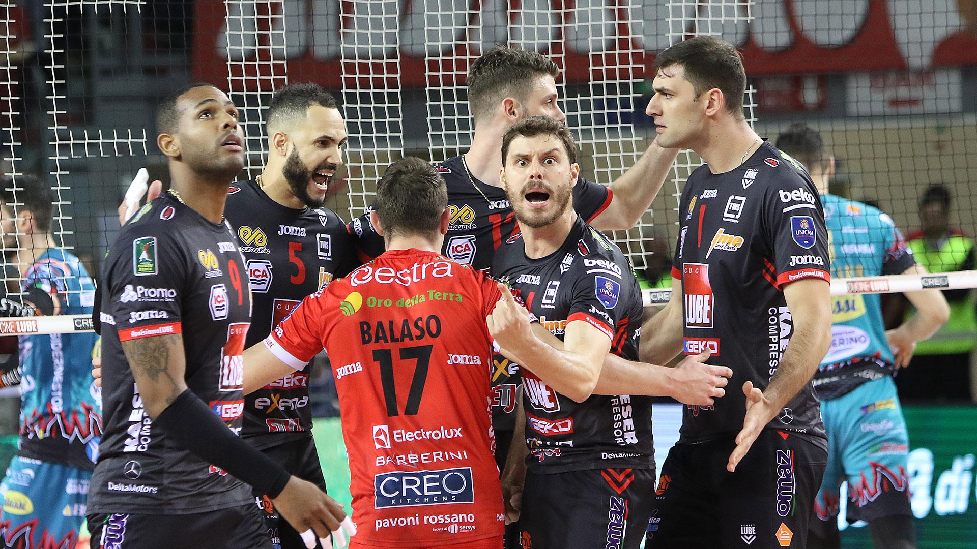 Lube a Perugia, sfida finale per il tricolore con la Sir Fafety