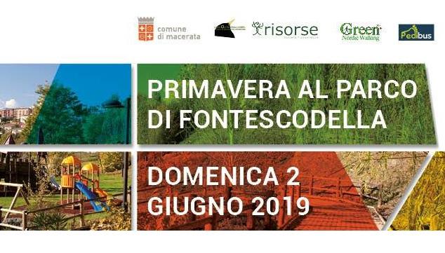 """Macerata, a Fontescodella festa """"Primavera nel parco"""""""