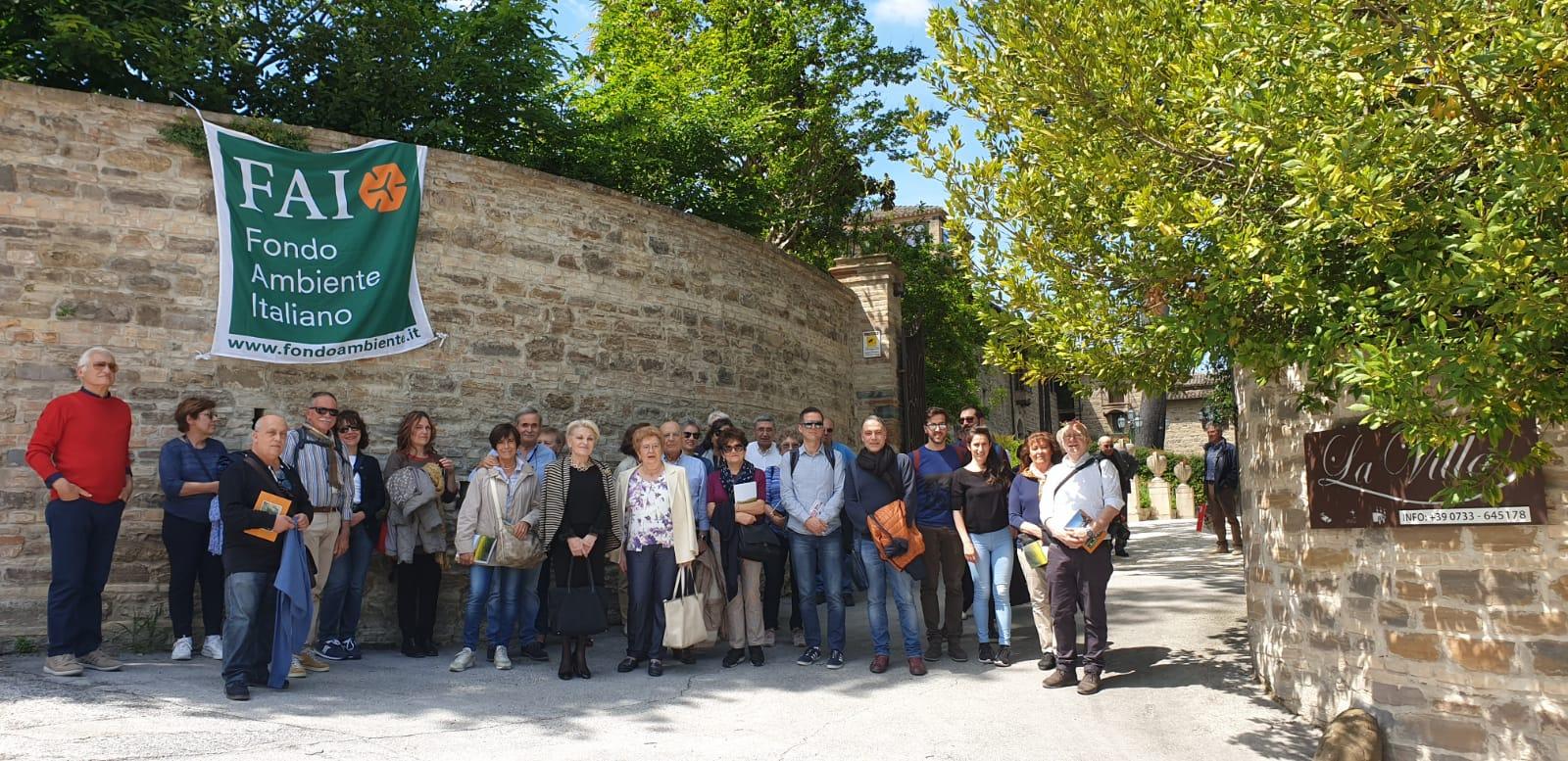 San Severino Marche, il FAI in visita alle ville storiche