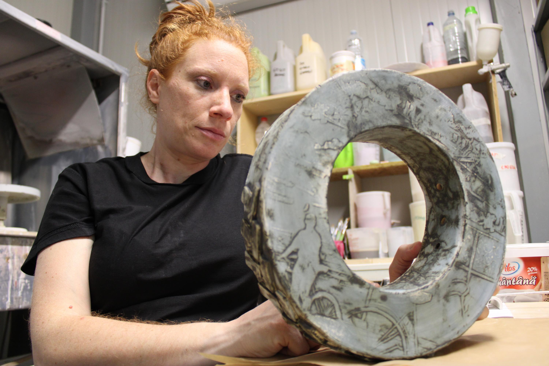 """Laura Scopa, l'arte della ceramica e le """"Forme attuali"""""""