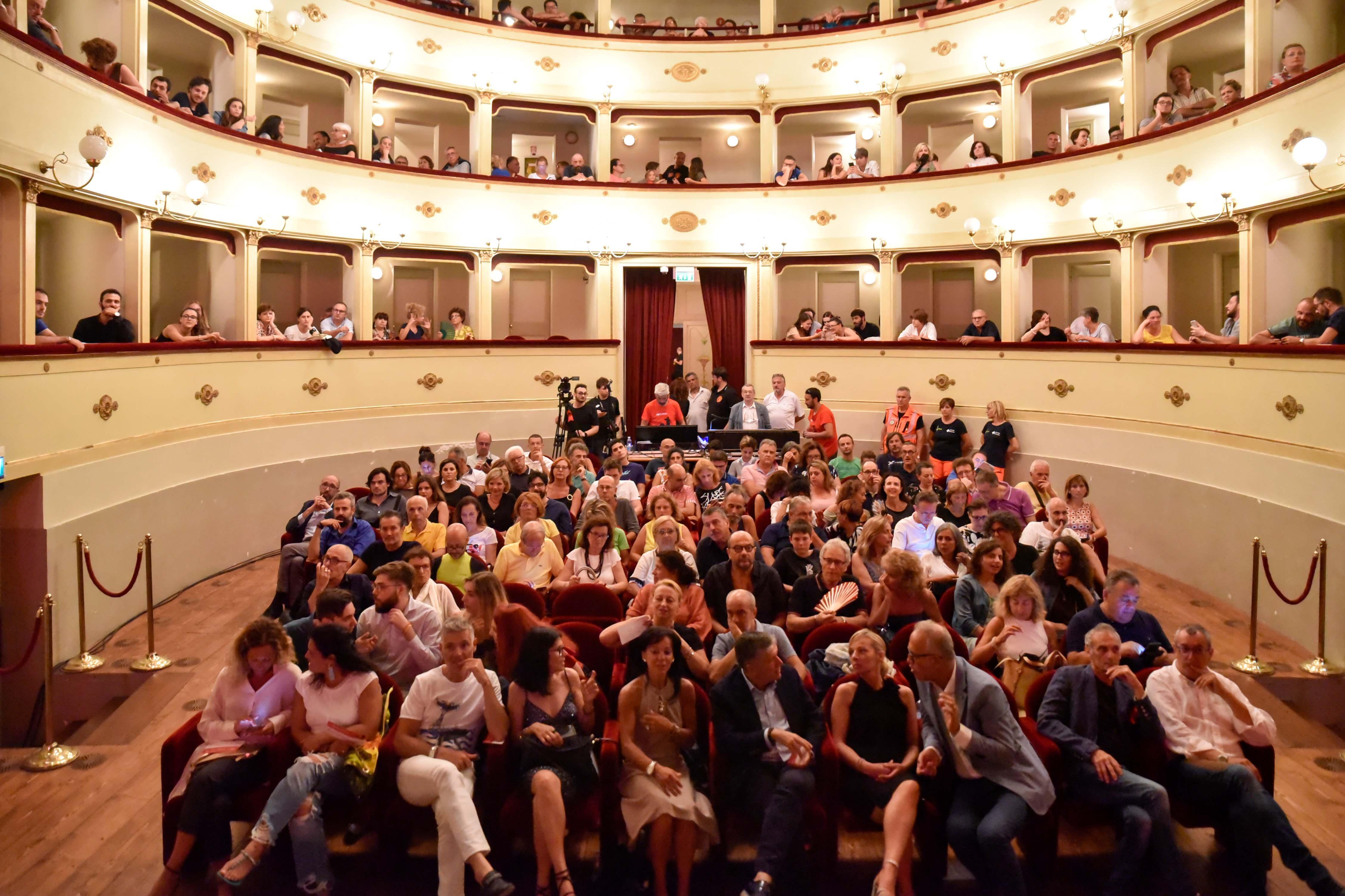 Popsophia si sposta al Teatro Annibal Caro per il maltempo