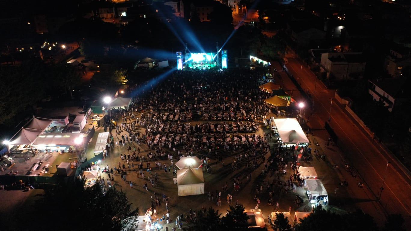 Concerto di Mahmood al Mind Festival di Montecosaro