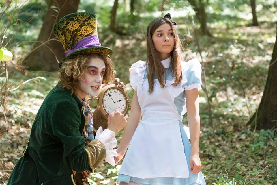 """Civitanova Marche: in piazza """"Alice nel paese delle meraviglie"""""""