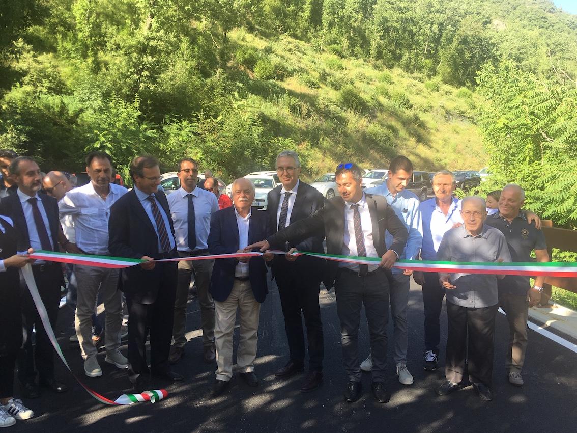 Aperta la SP96 a Pieve Torina, Ussita-Casali a traffico regolato
