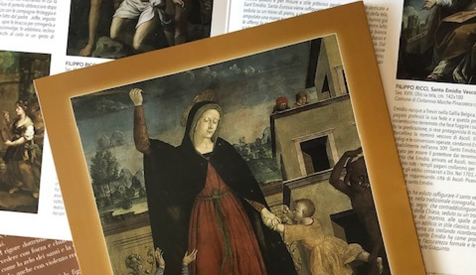 Civitanova Alta, in Pinacoteca 'Storie sacre e divine visioni'