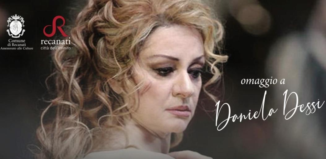 Recanati, Gran Galà Lirico in ricordo di Daniela Dessì