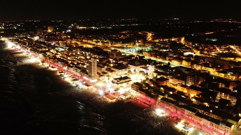 Una Ragazza per il Cinema, ai Bagni Fiore di Porto Recanati