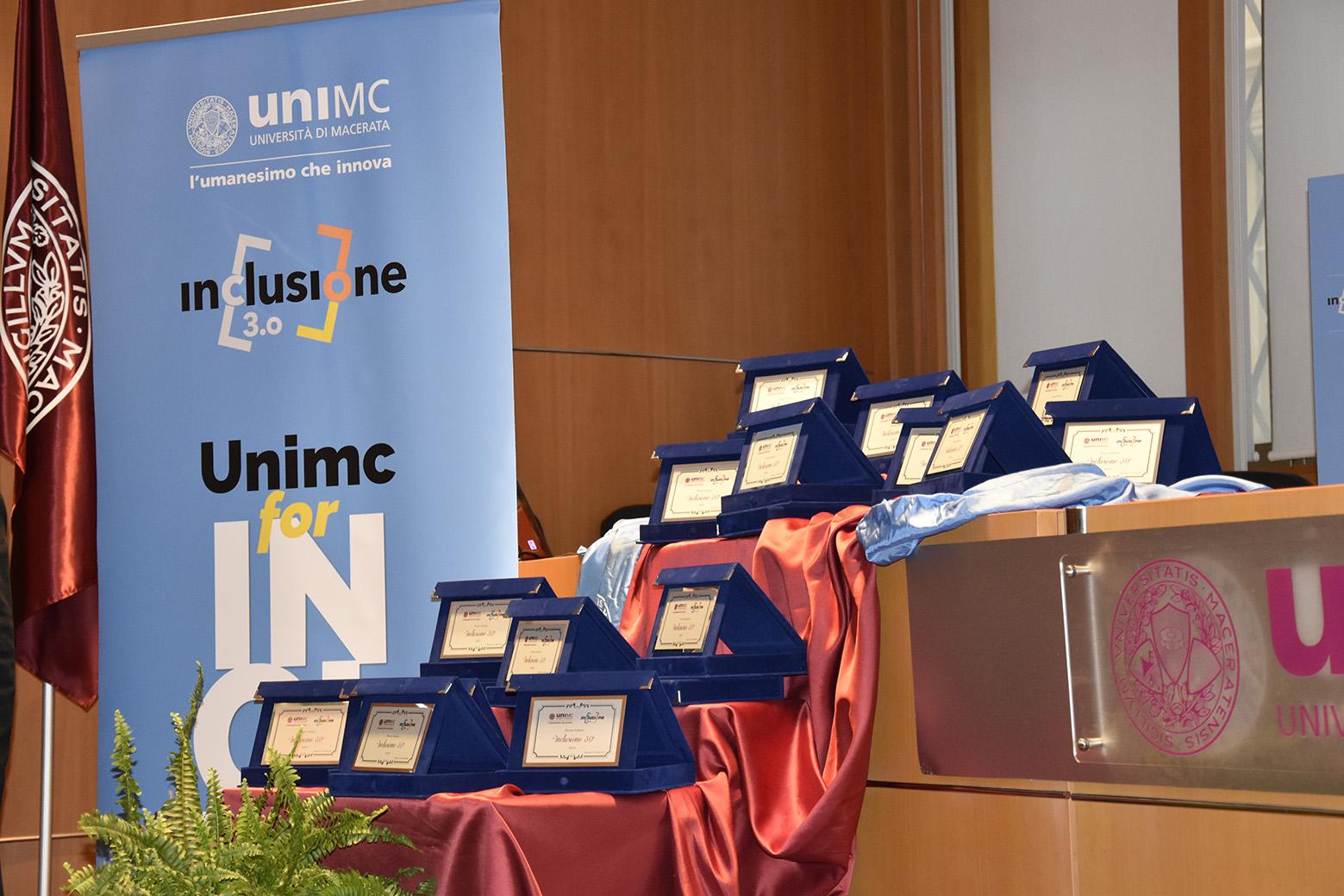 """I premi """"Inclusione 3.0"""" dell'Università di Macerata"""
