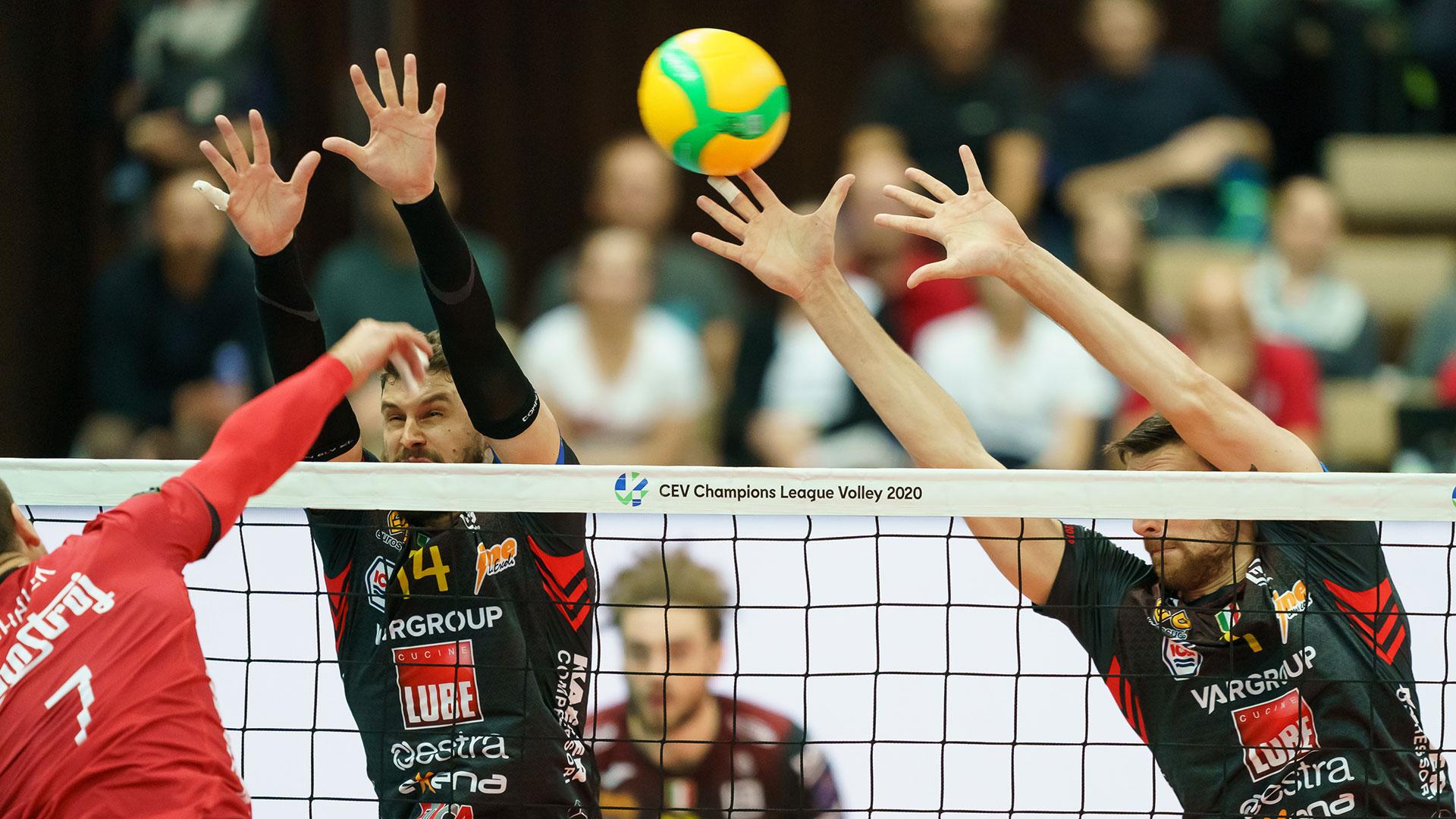 Lube vince in Champions, ancora trasferte a Padova e Istanbul