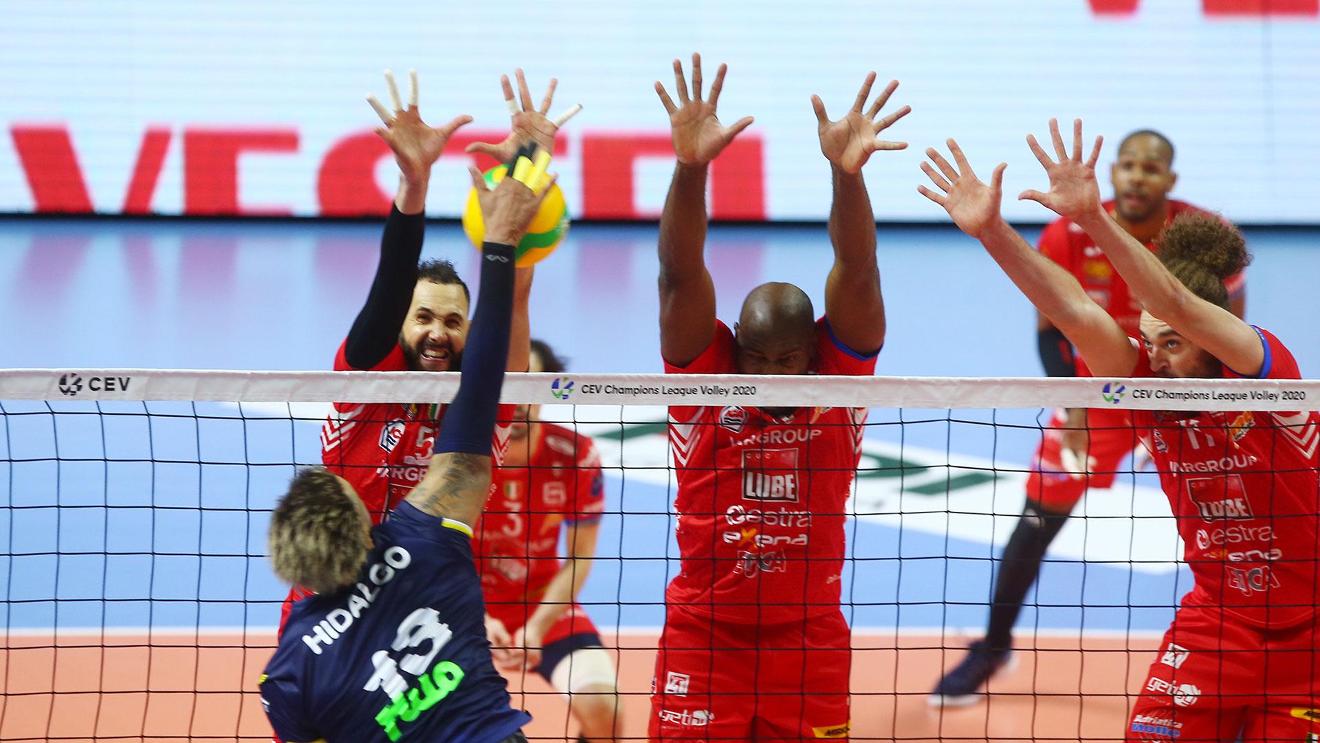 Champions League, la Lube Civitanova vince a Istanbul 3-1