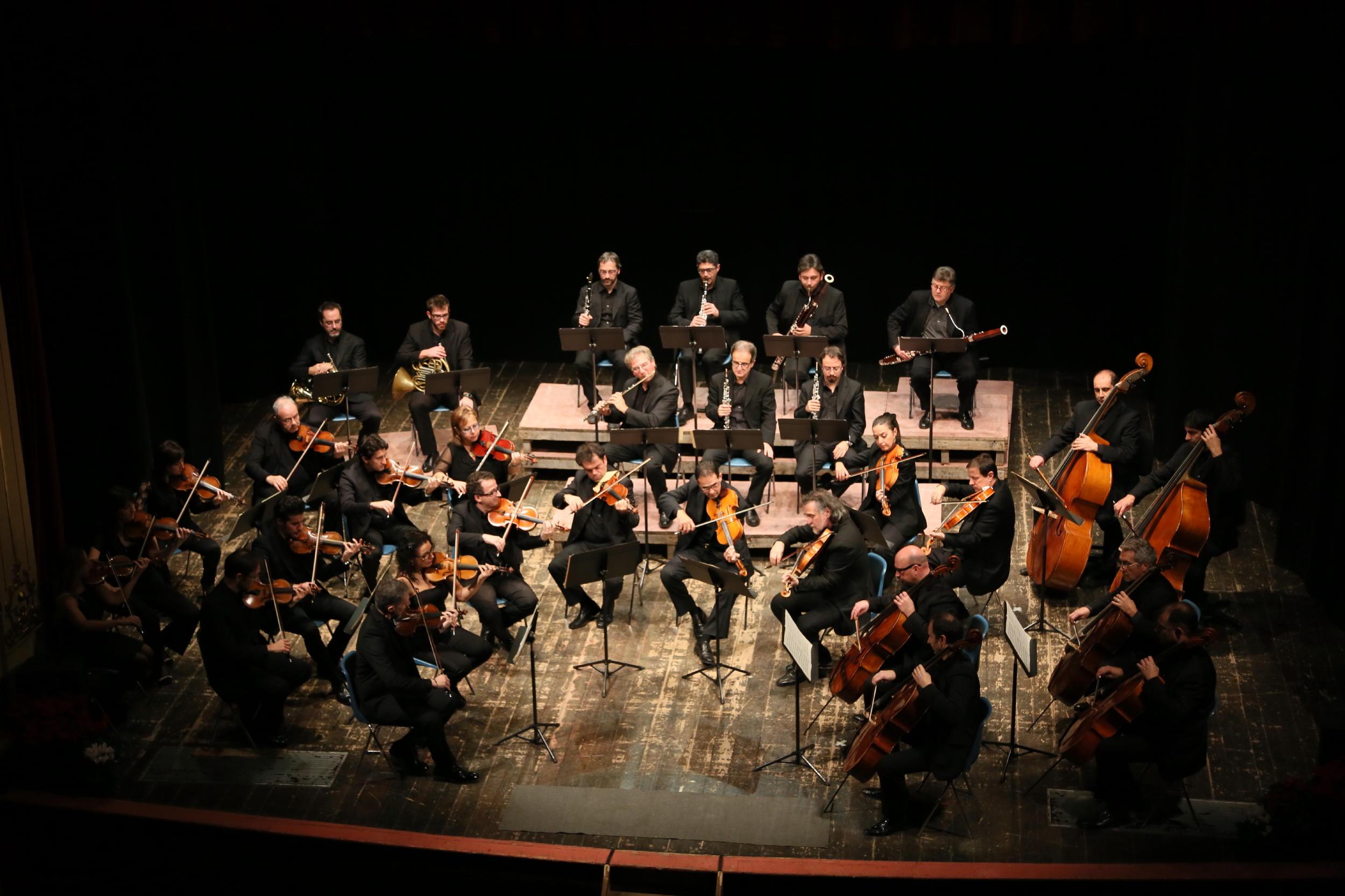 Macerata, l'Orchestra Filarmonica Marchigiana saluta il 2020