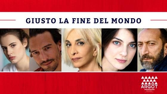 Giusto la fine del mondo, prima assoluta al Teatro Lauro Rossi