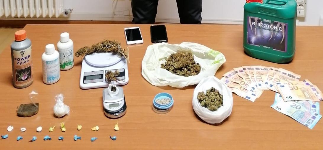 Civitanova Marche, Finanza sequestra sostanze stupefacenti
