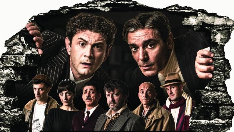 I soliti ignoti, prima versione teatrale al Lauro Rossi di Macerata
