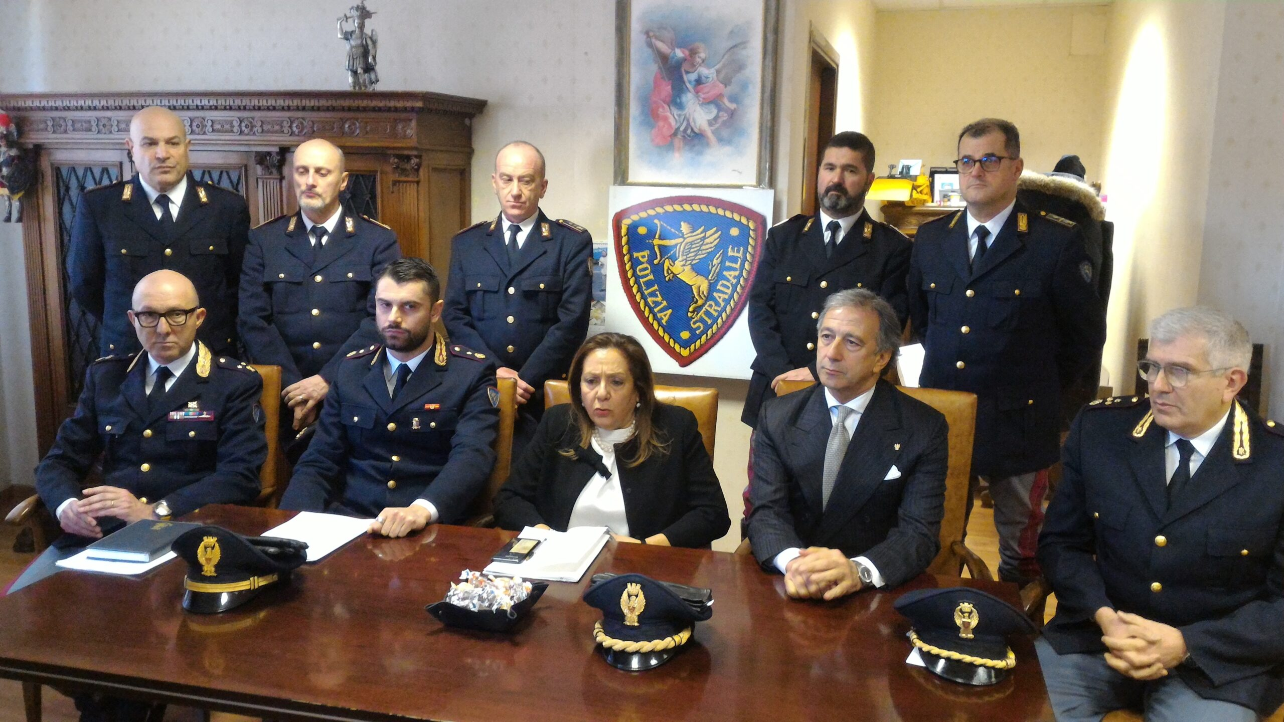 La Polizia Stradale in provincia di Macerata, numeri da record